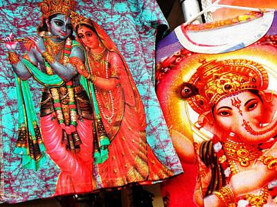 India Gods And Goddesses Original by Elizabeth Hoskinson