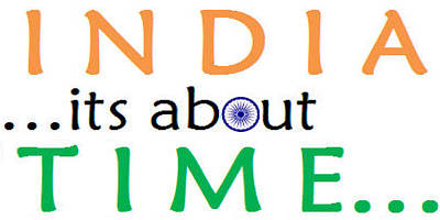 Democracy Drawing - India Time by Rayman Victor