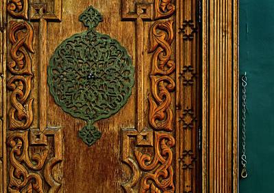Indian Door Print by Murray Bloom