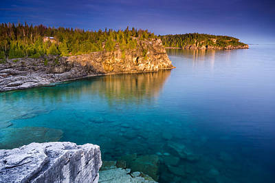 Canada Photograph - Indian Head Cove Sunrise  by Cale Best