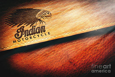 Indian Motorcycle Buffalo Leather Bag Original by Stefano Senise