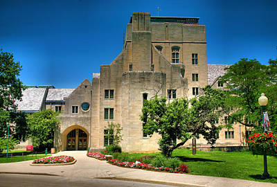 Indiana Memorial Union I Print by Steven Ainsworth