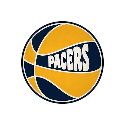Indiana Pacers Retro Shirt Print by Joe Hamilton