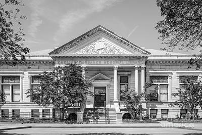 Indiana Photograph - Indiana State University Fairbanks Hall by University Icons