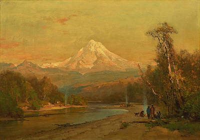 Thomas Hill Painting - Indians Of The Northwest by Thomas Hill