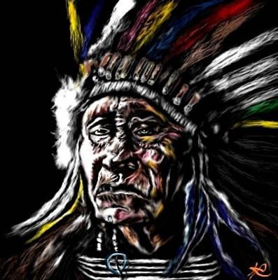 Loser Painting - Indigenous by Herbert Renard