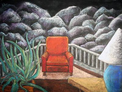 Indoor/outdoor Scene 2 Print by Heidi Douhab