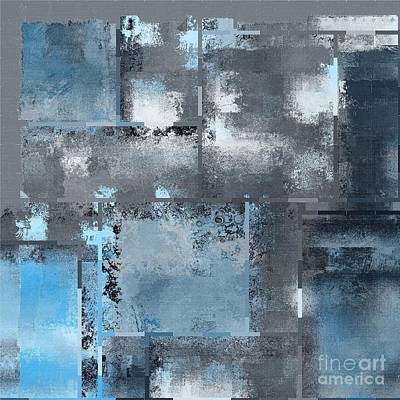 Abstarct Digital Art - Industrial Abstract - 10t by Variance Collections