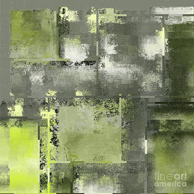 Abstract Wall Art Digital Art - Industrial Abstract - 11t by Variance Collections