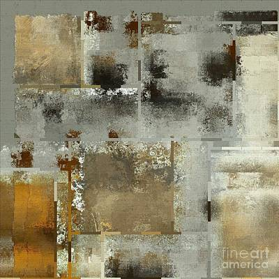 Contemporary Abstract Digital Art - Industrial Abstract - 24t by Variance Collections