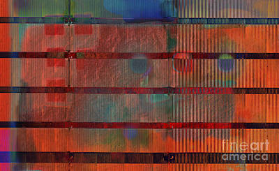 Industrial Abstract 5 Print by Andy  Mercer
