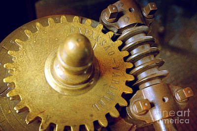 Industrial Gear Print by Carlos Caetano