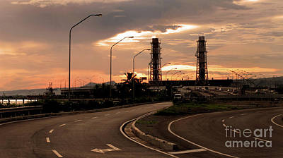 Industrial Landscape Print by Tony Magdaraog