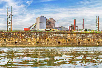 Industrial Pittsburgh Print by Eclectic Art Photos