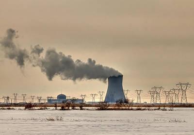 Energy Photograph - Industrialscape by Evelina Kremsdorf