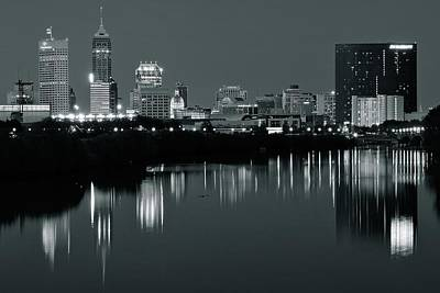 Riverwalk Photograph - Indy Gray by Frozen in Time Fine Art Photography