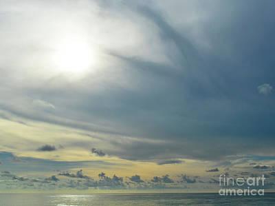 Grey Clouds Photograph - Infinite Sky  by Ksenia VanderHoff