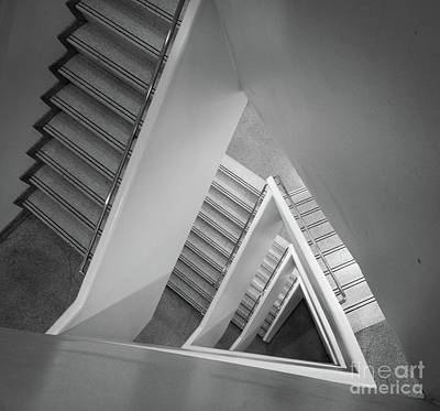 Staircase Photograph - Infinite Stairs by Inge Johnsson