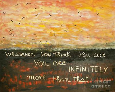 Infinitely More Print by Piercarla Garusi