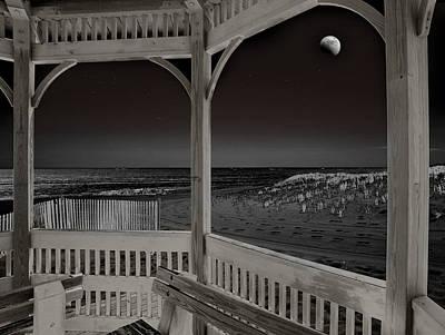 Infrared Moon Eclipse Original by Joseph G Holland