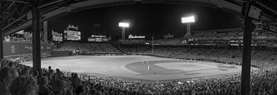 Fenway Park Photograph - Infrared Sox by Bryan Xavier