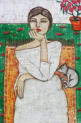 Painting - Ingrid by Natalie Briney
