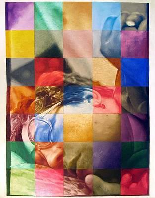 Racei Painting - Inhalation-exhalation. 2001 by Yuri Yudaev