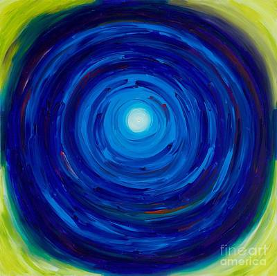 Tantra Painting - Initiation Into Crystal Palace by Victoria Tara