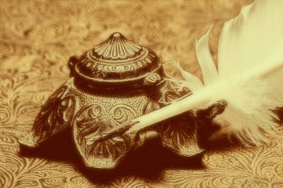 Pen Photograph - Inkwell I by Tom Mc Nemar