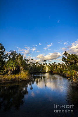Inlet Cove Print by Marvin Spates