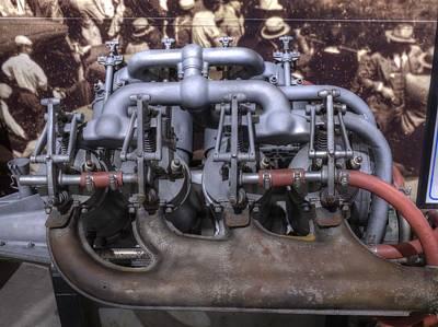 Inline Engine Aeronautics V2 Print by John Straton