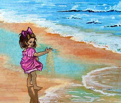 Painting - Innocence by Karon Melillo DeVega