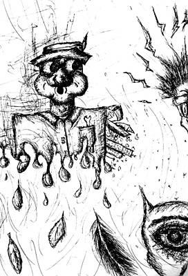 Drip Drawing - Insanity by Jera Sky