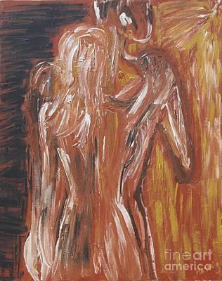 Inseparable Lovers Print by Jasmine Tolmajian