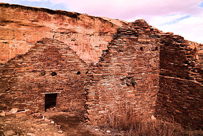 Chaco Canyon Photograph - Inside Ancient Walls by Jeff Swan