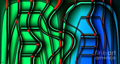 Toaster Digital Art - Inside The Toaster by Ron Bissett