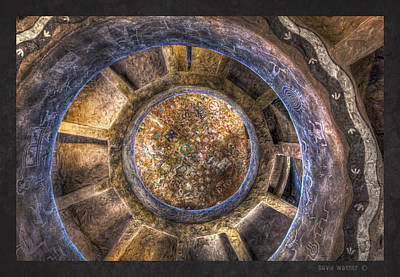 Photograph - Inside The Watch Tower by David Wagner