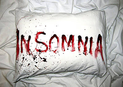 Stain Photograph - Insomnia by Nicklas Gustafsson