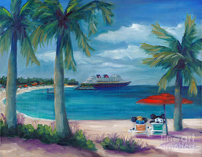 Castaway Cay Residents Original by Marnie Bourque