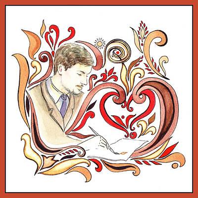Artist Process Painting - Inspiration Of The Artist by Irina Sztukowski