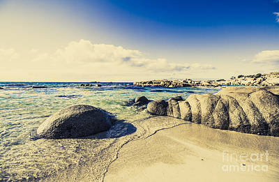 Water Filter Photograph - Instagram Style Ocean Landscape by Jorgo Photography - Wall Art Gallery