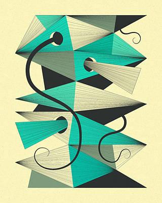 Surrealism Digital Art - Interzone 3 by Jazzberry Blue