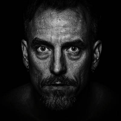 Beauty Mark Photograph - Intensify by CJ Schmit
