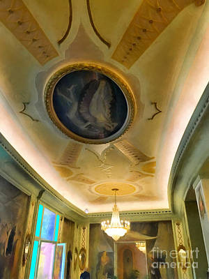 Mural Photograph - interior in Rome by HD Connelly