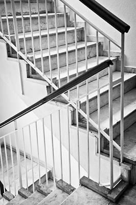 Interior Stairs Print by Tom Gowanlock