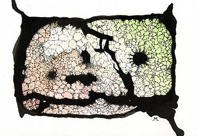Ink Mixed Media - Internal Landscape Two by Mark M  Mellon