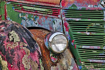 Nevada Photograph - International Car Details by Susan Candelario