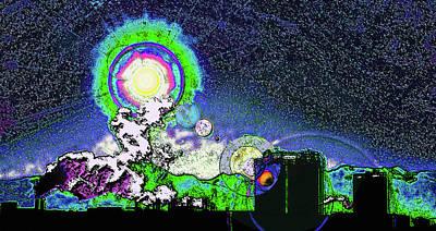 Interplanetary Space Mixed Media - Interplanetary..... by Steve Ohlsen