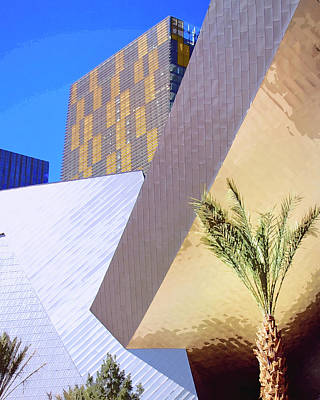 Aria Photograph - Intersection Number One Las Vegas by William Dey