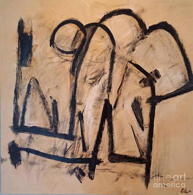 Intervention In The Kitchen Original by Ed Becker